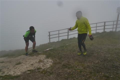 TRAIL di PIZZO San Michele N°3157 FOTO scattate a raffica in VETTA da Peppe Dalessio con nebbia e gran freddo - foto 835