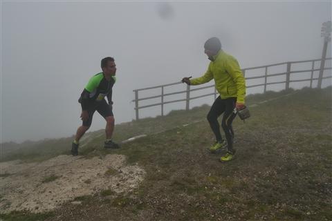 TRAIL di PIZZO San Michele N°3157 FOTO scattate a raffica in VETTA da Peppe Dalessio con nebbia e gran freddo - foto 837