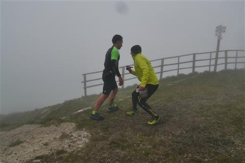 TRAIL di PIZZO San Michele N°3157 FOTO scattate a raffica in VETTA da Peppe Dalessio con nebbia e gran freddo - foto 852
