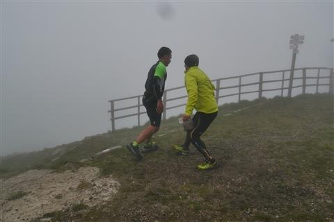 TRAIL di PIZZO San Michele N°3157 FOTO scattate a raffica in VETTA da Peppe Dalessio con nebbia e gran freddo - foto 853