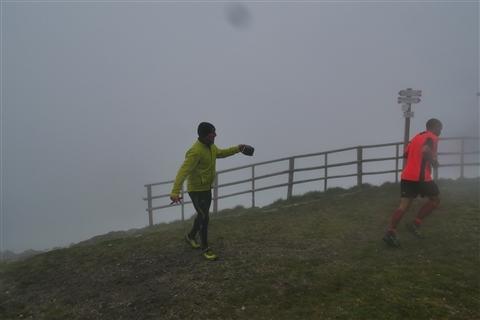 TRAIL di PIZZO San Michele N°3157 FOTO scattate a raffica in VETTA da Peppe Dalessio con nebbia e gran freddo - foto 1007