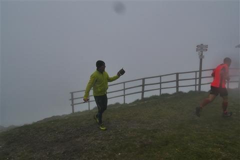 TRAIL di PIZZO San Michele N°3157 FOTO scattate a raffica in VETTA da Peppe Dalessio con nebbia e gran freddo - foto 1008