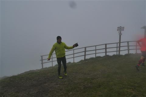 TRAIL di PIZZO San Michele N°3157 FOTO scattate a raffica in VETTA da Peppe Dalessio con nebbia e gran freddo - foto 1010