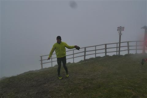 TRAIL di PIZZO San Michele N°3157 FOTO scattate a raffica in VETTA da Peppe Dalessio con nebbia e gran freddo - foto 1011