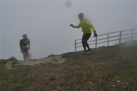 TRAIL di PIZZO San Michele N°3157 FOTO scattate a raffica in VETTA da Peppe Dalessio con nebbia e gran freddo - foto 1016