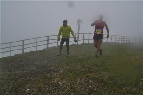 TRAIL di PIZZO San Michele N°3157 FOTO scattate a raffica in VETTA da Peppe Dalessio con nebbia e gran freddo - foto 1088