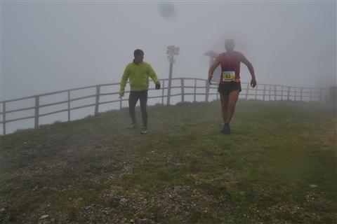 TRAIL di PIZZO San Michele N°3157 FOTO scattate a raffica in VETTA da Peppe Dalessio con nebbia e gran freddo - foto 1091