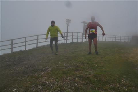 TRAIL di PIZZO San Michele N°3157 FOTO scattate a raffica in VETTA da Peppe Dalessio con nebbia e gran freddo - foto 1092