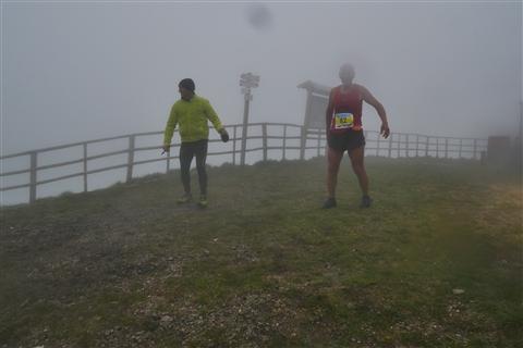 TRAIL di PIZZO San Michele N°3157 FOTO scattate a raffica in VETTA da Peppe Dalessio con nebbia e gran freddo - foto 1093