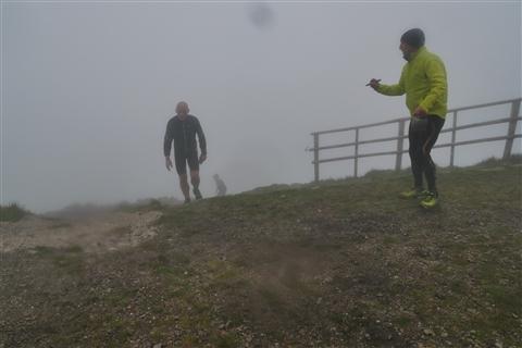 TRAIL di PIZZO San Michele N°3157 FOTO scattate a raffica in VETTA da Peppe Dalessio con nebbia e gran freddo - foto 1155
