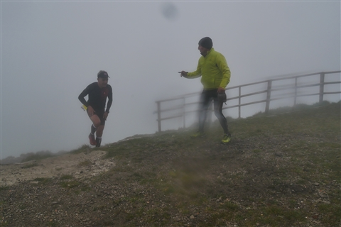 TRAIL di PIZZO San Michele N°3157 FOTO scattate a raffica in VETTA da Peppe Dalessio con nebbia e gran freddo - foto 1194