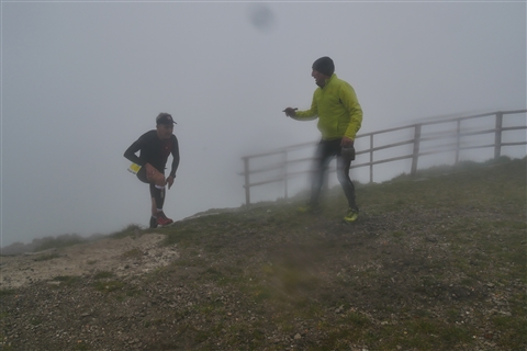 TRAIL di PIZZO San Michele N°3157 FOTO scattate a raffica in VETTA da Peppe Dalessio con nebbia e gran freddo - foto 1195