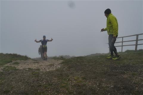 TRAIL di PIZZO San Michele N°3157 FOTO scattate a raffica in VETTA da Peppe Dalessio con nebbia e gran freddo - foto 1231