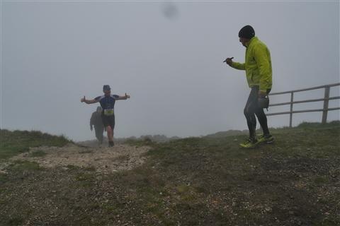 TRAIL di PIZZO San Michele N°3157 FOTO scattate a raffica in VETTA da Peppe Dalessio con nebbia e gran freddo - foto 1235