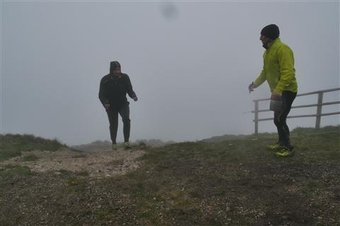 TRAIL di PIZZO San Michele N°3157 FOTO scattate a raffica in VETTA da Peppe Dalessio con nebbia e gran freddo - foto 1275