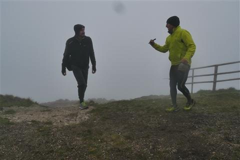TRAIL di PIZZO San Michele N°3157 FOTO scattate a raffica in VETTA da Peppe Dalessio con nebbia e gran freddo - foto 1281