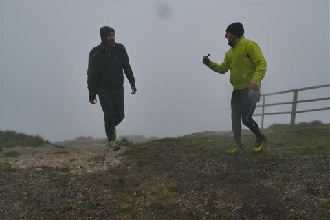 TRAIL di PIZZO San Michele N°3157 FOTO scattate a raffica in VETTA da Peppe Dalessio con nebbia e gran freddo - foto 1282