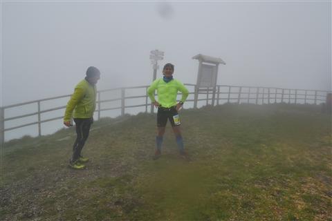 TRAIL di PIZZO San Michele N°3157 FOTO scattate a raffica in VETTA da Peppe Dalessio con nebbia e gran freddo - foto 1371