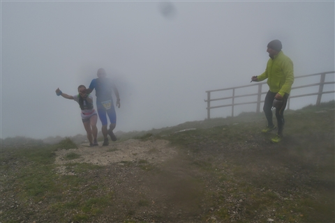 TRAIL di PIZZO San Michele N°3157 FOTO scattate a raffica in VETTA da Peppe Dalessio con nebbia e gran freddo - foto 1423