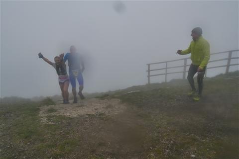 TRAIL di PIZZO San Michele N°3157 FOTO scattate a raffica in VETTA da Peppe Dalessio con nebbia e gran freddo - foto 1424