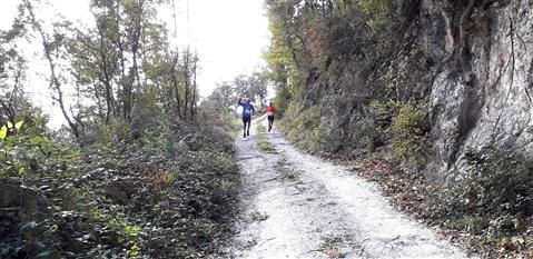 Trail del GRIFONE ....Borgo medievale di Terravecchia -Giffoni 18 novembre 2018- - foto 18