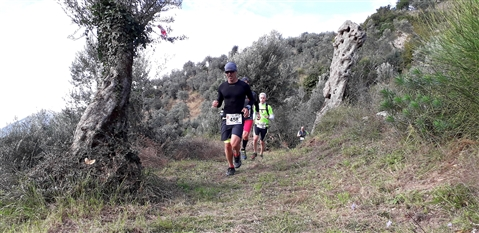 Trail del GRIFONE ....Borgo medievale di Terravecchia -Giffoni 18 novembre 2018- - foto 61