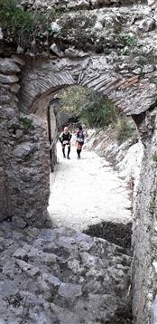 Trail del GRIFONE ....Borgo medievale di Terravecchia -Giffoni 18 novembre 2018- - foto 121