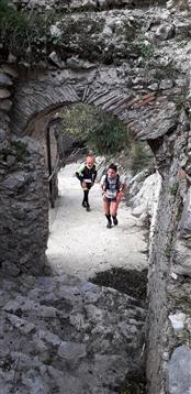 Trail del GRIFONE ....Borgo medievale di Terravecchia -Giffoni 18 novembre 2018- - foto 122
