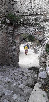 Trail del GRIFONE ....Borgo medievale di Terravecchia -Giffoni 18 novembre 2018- - foto 126