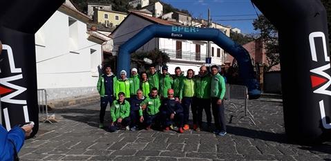 Trail del GRIFONE ....Borgo medievale di Terravecchia -Giffoni 18 novembre 2018- - foto 175