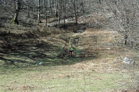 """I° Trail """"La Dama del Lago"""" 24 marzo 2019 Sanpotito Sannitico - foto 17"""