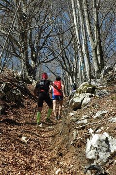 """I° Trail """"La Dama del Lago"""" 24 marzo 2019 Sanpotito Sannitico - foto 46"""