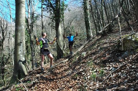 """I° Trail """"La Dama del Lago"""" 24 marzo 2019 Sanpotito Sannitico - foto 87"""
