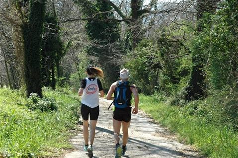 """I° Trail """"La Dama del Lago"""" 24 marzo 2019 Sanpotito Sannitico - foto 142"""