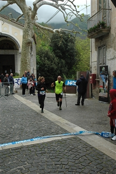 ARRIVI del Trail di Pizzo San Michele e Caggiana Trail 28 aprile 2019 + foto VARIE - foto 15