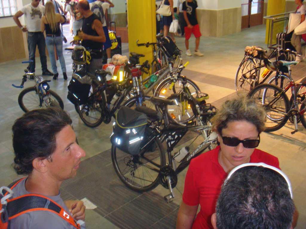Ciclo-escursione FIAB a Controne (Cilento) e bagno al fiume Calore