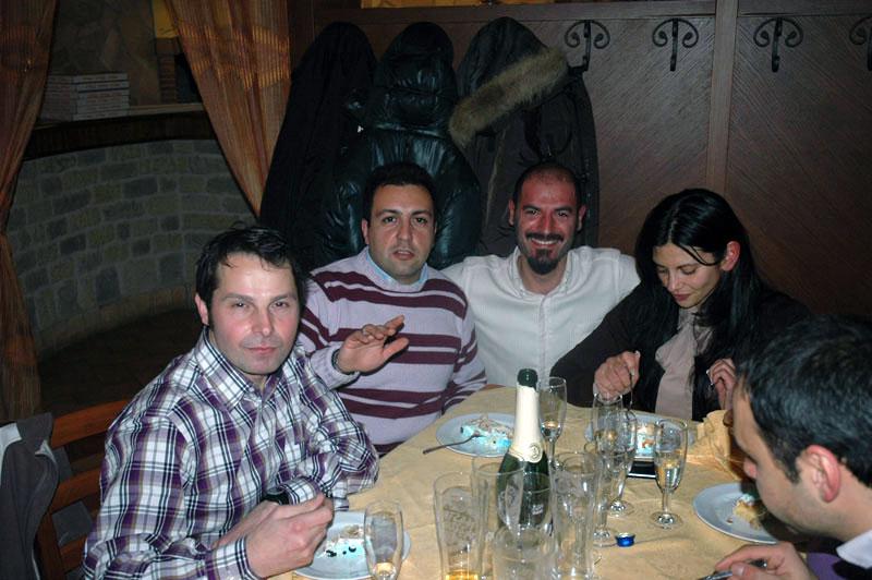Allenamento e cena al Casereccio (Rowing CUS Salerno)