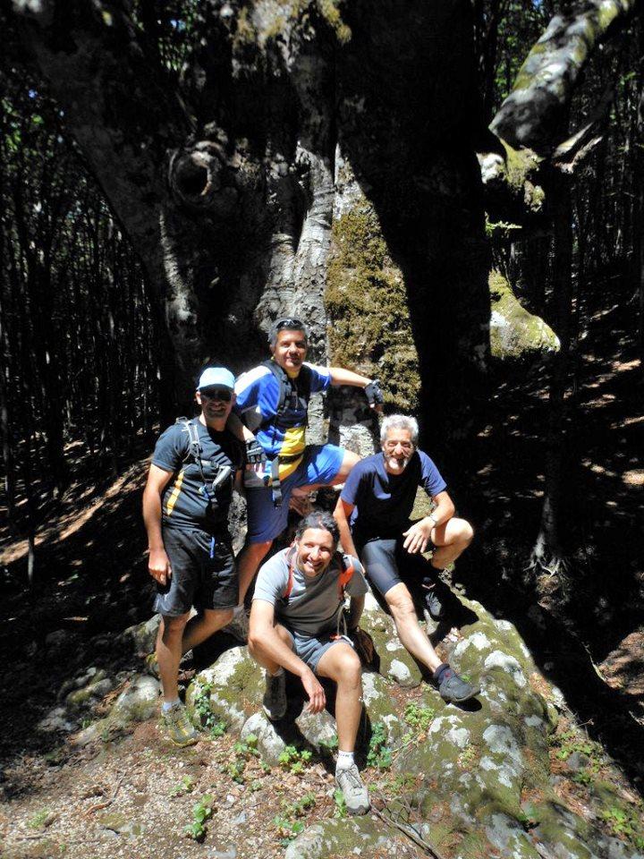 Ciclo escursione FIAB al monte FAITO e regata storica ad Amalfi