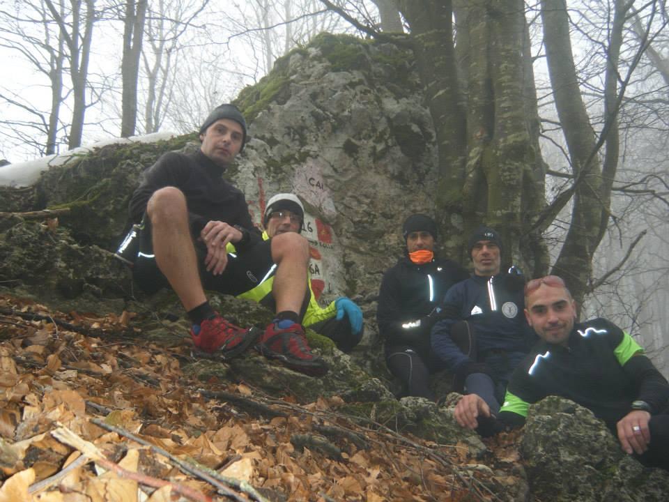 """Allenamento TRAIL """"IMMACOLATA 2013"""" monti MAI (1607 s.l.m)   TEAM:  Giovanni Giordano,Giovanni Tolino,Emilio Luce,Dino De Renzi,Lorenzo Rago."""