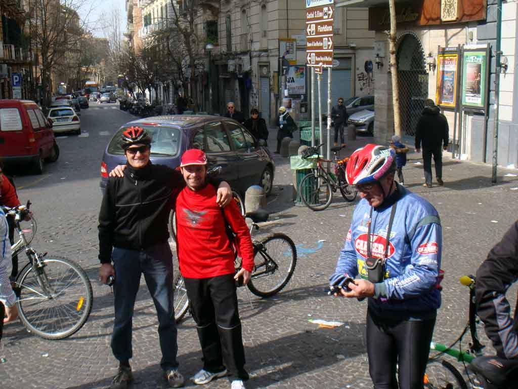 Liberty Napoletano Fiab Salerno & Cicloverdi Napoli