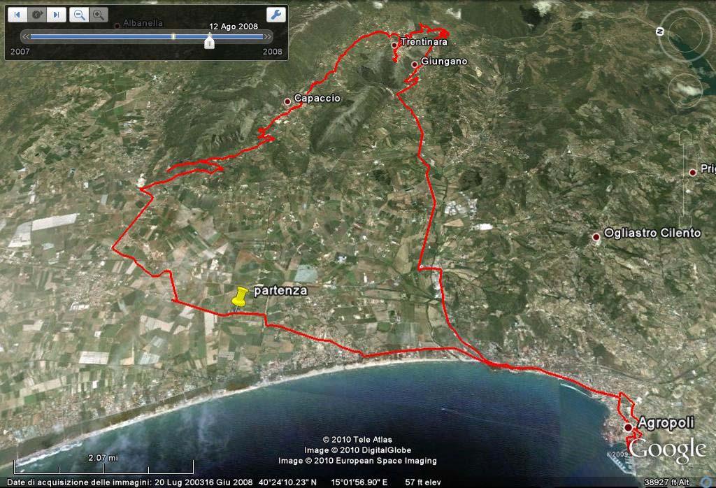 Escursione col PRESIDENTE --Paestum-Capaccio(paese)-Trentinara-Giuncano-Agropoli--