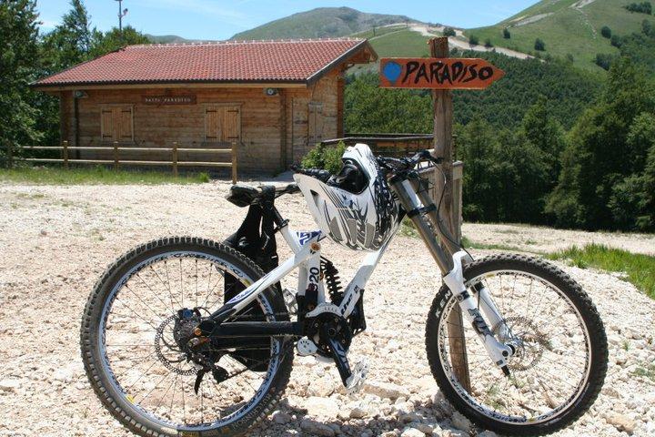 Altosangro Bike-Park  .Abruzzo.
