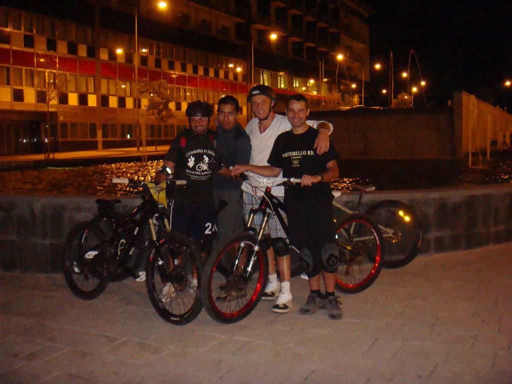 Urban notturno a Salerno e BikePark Pierfavone (Sellata Potenza)